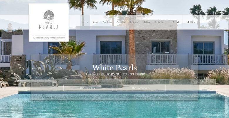 Luxury Suites in Kos, White Pearls